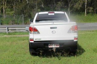 2012 Mazda BT-50 UP0YF1 XT 4x2 Hi-Rider White 6 Speed Manual Cab Chassis
