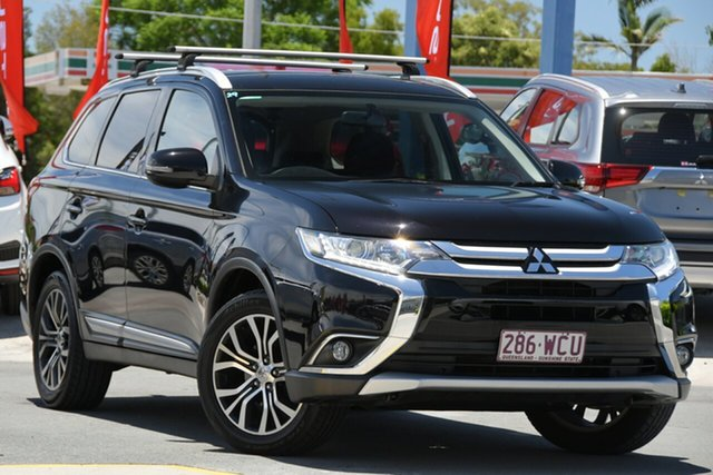 Used Mitsubishi Outlander ZJ MY14.5 LS 2WD Aspley, 2015 Mitsubishi Outlander ZJ MY14.5 LS 2WD Black 6 Speed Constant Variable Wagon