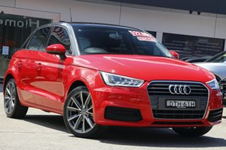 2017 Audi A1 8X MY17 Sportback S Tronic Red 7 Speed Sports Automatic Dual Clutch Hatchback.