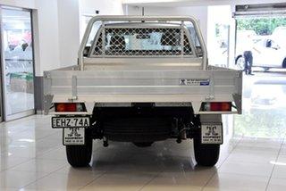 2019 Mazda BT-50 UR0YE1 XT 4x2 Hi-Rider Silver 6 Speed Sports Automatic Cab Chassis