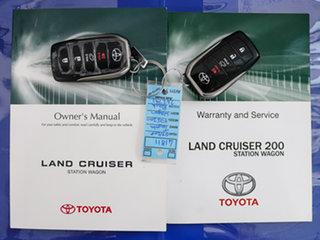 2018 Toyota Landcruiser VDJ200R LC200 Sahara (4x4) Black 6 Speed Automatic Wagon