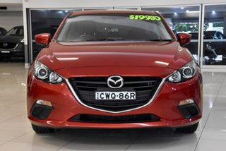 2014 Mazda 3 BM5478 Maxx SKYACTIV-Drive Red 6 Speed Sports Automatic Hatchback