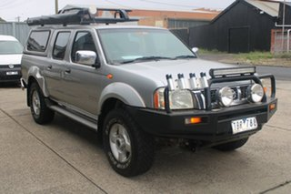 2004 Nissan Navara D22 ST-R (4x4) 5 Speed Manual Dual Cab Pick-up.