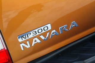 2015 Nissan Navara D23 ST Orange 7 Speed Sports Automatic Utility