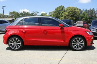 2017 Audi A1 8X MY17 Sportback S Tronic Red 7 Speed Sports Automatic Dual Clutch Hatchback
