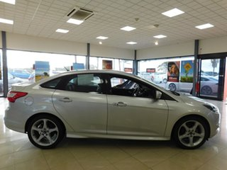 2013 Ford Focus LW MkII Titanium PwrShift Silver 6 Speed Sports Automatic Dual Clutch Sedan