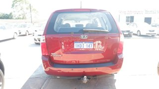2011 Kia Grand Carnival VQ MY12 S Red 6 Speed Sports Automatic Wagon