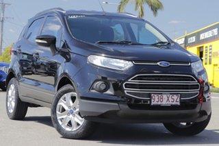 2015 Ford Ecosport BK Trend PwrShift Shadow Black 6 Speed Sports Automatic Dual Clutch Wagon.