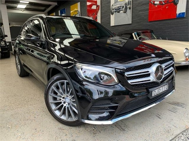 Used Mercedes-Benz GLC-Class X253 Glebe, 2016 Mercedes-Benz GLC-Class X253 GLC250 Black Sports Automatic Wagon