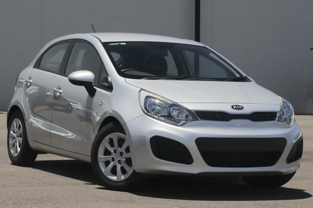 Used Kia Rio UB MY13 S Windsor, 2013 Kia Rio UB MY13 S Silver 4 Speed Sports Automatic Hatchback