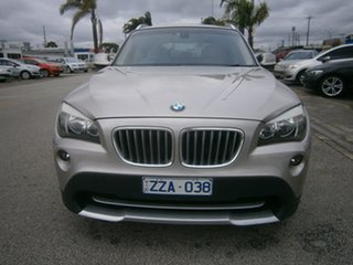 2010 BMW X1 E84 xDrive25i Steptronic Silver 6 Speed Sports Automatic Wagon.