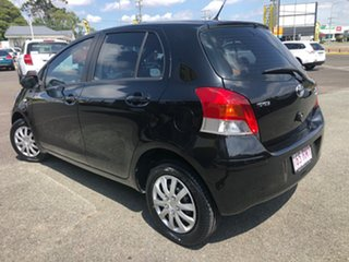 2010 Toyota Yaris NCP90R MY10 YR Black 5 Speed Manual Hatchback