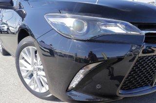 2016 Toyota Camry ASV50R Atara SL Eclipse Black 6 Speed Sports Automatic Sedan.