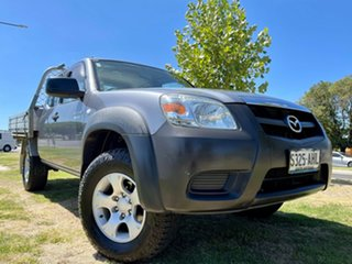 2010 Mazda BT-50 UNY0E4 SDX Freestyle Grey 5 Speed Manual Utility.