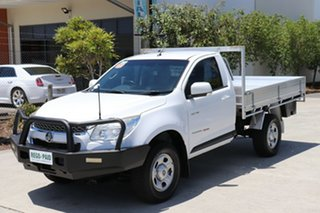 2014 Holden Colorado RG MY14 LX White 6 speed Manual Cab Chassis