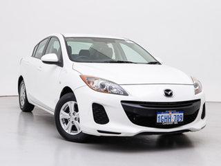 2011 Mazda 3 BL 11 Upgrade Neo White 5 Speed Automatic Sedan.