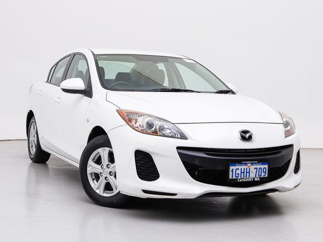 Used Mazda 3 BL 11 Upgrade Neo, 2011 Mazda 3 BL 11 Upgrade Neo White 5 Speed Automatic Sedan