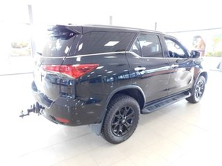 2018 Toyota Fortuner GUN156R Crusade Black 6 Speed Automatic Wagon