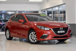 2014 Mazda 3 BM5478 Maxx SKYACTIV-Drive Red 6 Speed Sports Automatic Hatchback.