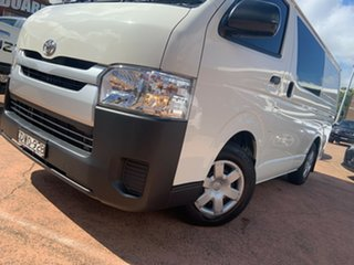 2018 Toyota HiAce KDH201R MY16 LWB White 4 Speed Automatic Van.