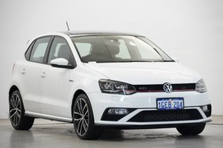 2016 Volkswagen Polo 6R MY17 GTI DSG White 7 Speed Sports Automatic Dual Clutch Hatchback