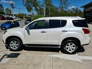 2014 Isuzu MU-X MY15 LS-T Rev-Tronic White 5 Speed Sports Automatic Wagon