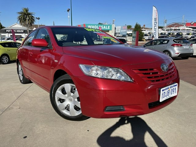 Used Toyota Camry ACV40R Altise Victoria Park, 2007 Toyota Camry ACV40R Altise Red 5 Speed Automatic Sedan