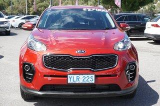 2016 Kia Sportage QL MY16 SLi AWD Red 6 Speed Sports Automatic Wagon.