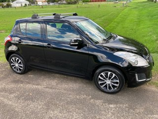 2014 Suzuki Swift FZ MY14 GL Black 5 Speed Manual Hatchback.
