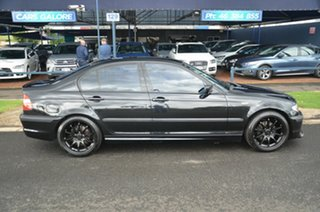 2004 BMW 318i E46 Sport Black 5 Speed Auto Steptronic Sedan.