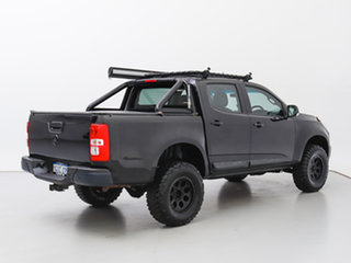 2014 Holden Colorado RG MY14 LX (4x4) Black 6 Speed Automatic Crew Cab Chassis