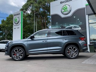 2020 Skoda Kodiaq NS MY21 RS DSG Grey 7 Speed Sports Automatic Dual Clutch Wagon