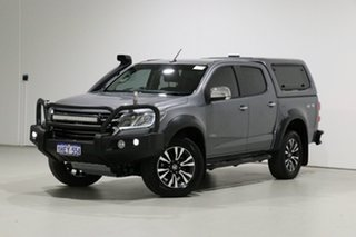 2017 Holden Colorado RG MY17 LTZ (4x4) Grey 6 Speed Manual Crew Cab Pickup.