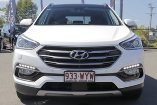 2016 Hyundai Santa Fe DM3 MY16 Highlander Pure White 6 Speed Sports Automatic Wagon