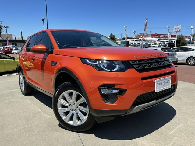 Used Land Rover Discovery Sport L550 16.5MY SE Victoria Park, 2016 Land Rover Discovery Sport L550 16.5MY SE Orange 9 Speed Sports Automatic Wagon