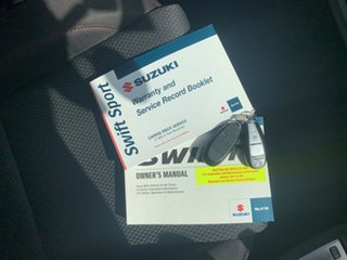 2017 Suzuki Swift FZ Sport Navigator White 7 Speed CVT Auto Sequential Hatchback
