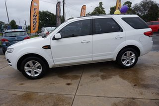 2011 Ford Territory SZ TX Seq Sport Shift Winter White 6 Speed Sports Automatic Wagon.