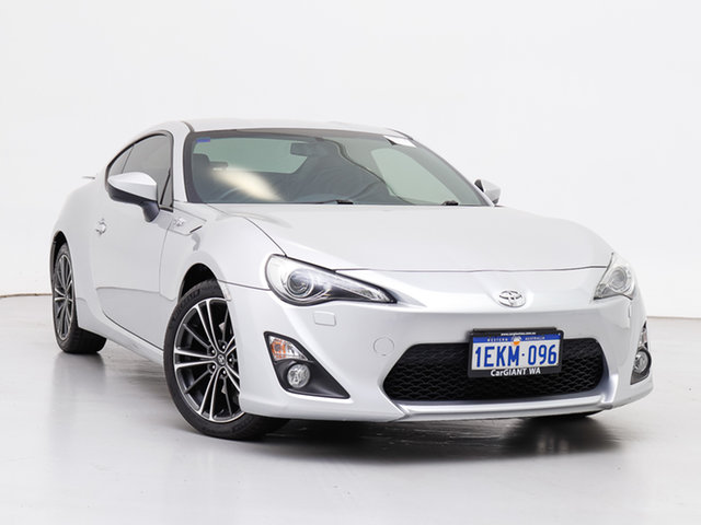 Used Toyota 86 ZN6 GTS, 2013 Toyota 86 ZN6 GTS Silver, Chrome 6 Speed Auto Sequential Coupe