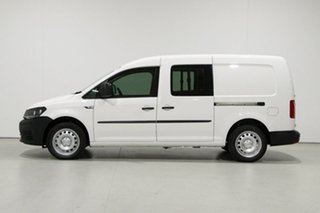 2017 Volkswagen Caddy 2K MY17.5 Upgrade Maxi Crewvan TDI250 White 6 Speed Direct Shift Van