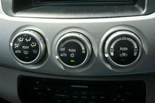 2012 Mitsubishi Triton MN MY12 GLX-R Double Cab Silver 5 Speed Manual Utility