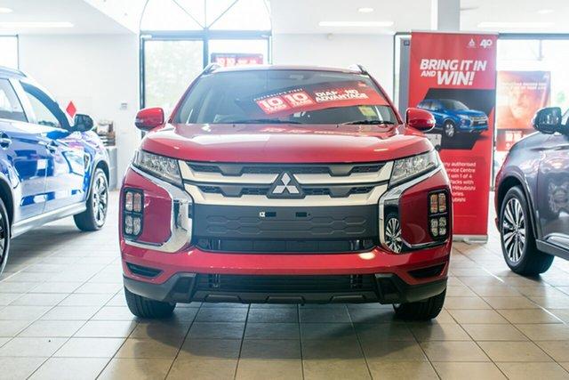 Demo Mitsubishi ASX XD MY20 LS 2WD Phillip, 2020 Mitsubishi ASX XD MY20 LS 2WD Red Diamond 1 Speed Constant Variable Wagon