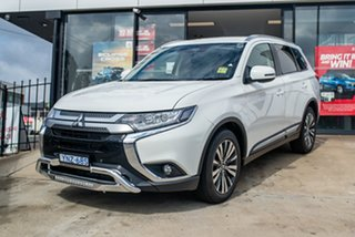 2020 Mitsubishi Outlander ZL MY21 LS 2WD White 6 Speed Constant Variable Wagon.