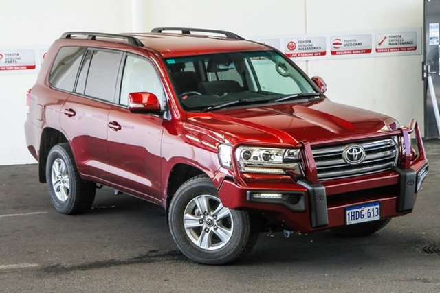 Pre-Owned Toyota Landcruiser VDJ200R GXL Rockingham, 2017 Toyota Landcruiser VDJ200R GXL Merlot Red 6 Speed Sports Automatic Wagon