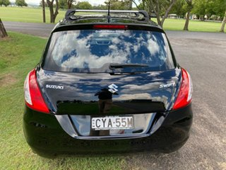 2014 Suzuki Swift FZ MY14 GL Black 5 Speed Manual Hatchback