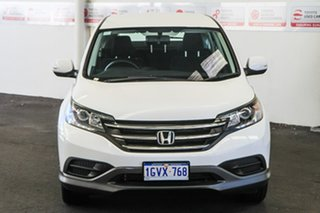 2013 Honda CR-V 30 VTi (4x2) Navi White 5 Speed Automatic Wagon