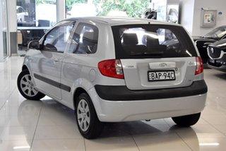 2007 Hyundai Getz TB MY06 Silver 4 Speed Automatic Hatchback.