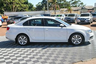 2015 Volkswagen Jetta 1B MY15 118TSI DSG Trendline Pure White 7 Speed Sports Automatic Dual Clutch.