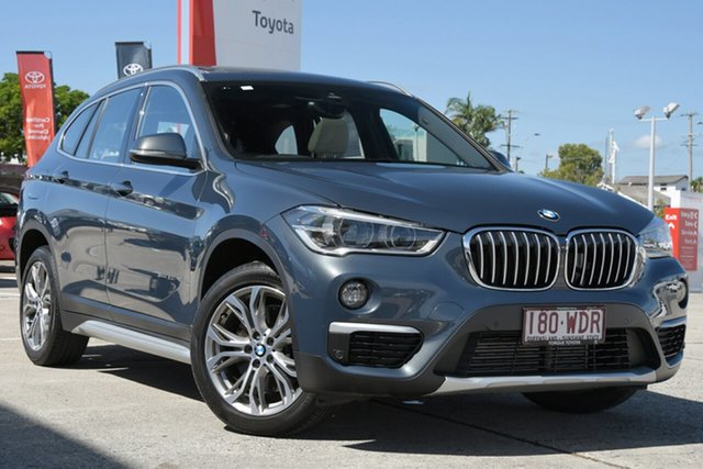 Pre-Owned BMW X1 F48 sDrive20i Steptronic Albion, 2015 BMW X1 F48 sDrive20i Steptronic Dark Grey 8 Speed Sports Automatic Wagon