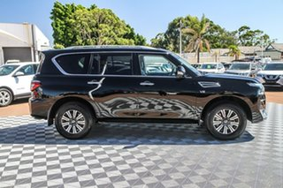 2020 Nissan Patrol Y62 Series 5 MY20 TI-L Black Obsidian 7 Speed Sports Automatic Wagon.