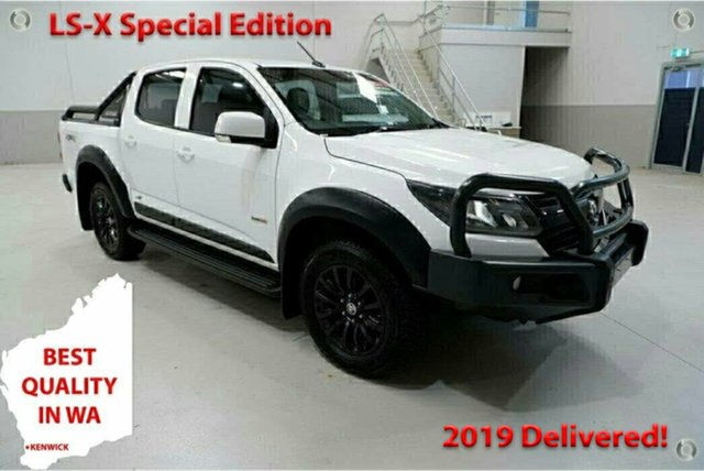 Used Holden Colorado RG MY18 LS-X Special Edition Kenwick, 2018 Holden Colorado RG MY18 LS-X Special Edition White 6 Speed Automatic Crew Cab Utility